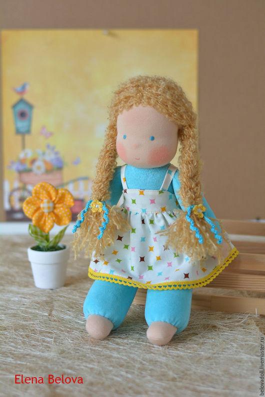 Вальдорфская игрушка ручной работы. Ярмарка Мастеров - ручная работа. Купить Вальдорфская кукла Есения, 34 см. Handmade.