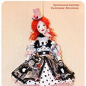 Куклы и игрушки ручной работы. Ярмарка Мастеров - ручная работа кукла тильда КОЛОМБИНА. Handmade.