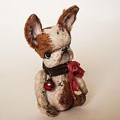 Куклы и игрушки ручной работы. Ярмарка Мастеров - ручная работа Французский бульдог, малыш. Handmade.