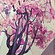 """Зонты ручной работы. Зонт с ручной росписью """"Красное дерево"""". Umbrella Fine Art. Ярмарка Мастеров. Зонт с росписью, фэнтези"""