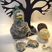 Куклы и игрушки ручной работы. Ярмарка Мастеров - ручная работа Петух Грустяша. Handmade.