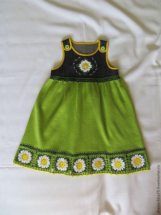 Платья ручной работы. Ярмарка Мастеров - ручная работа. Купить детский сарафан. Handmade. Детский сарафан, детское платье