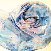 Палантины ручной работы. Ярмарка Мастеров - ручная работа Палантины:  Голубое облако. Handmade.