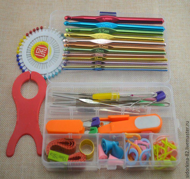 набор для вязания крючком купить в интернет магазине на ярмарке