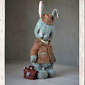"""Куклы и игрушки ручной работы. Ярмарка Мастеров - ручная работа Кролик тедди """"Эдвард"""". Handmade."""