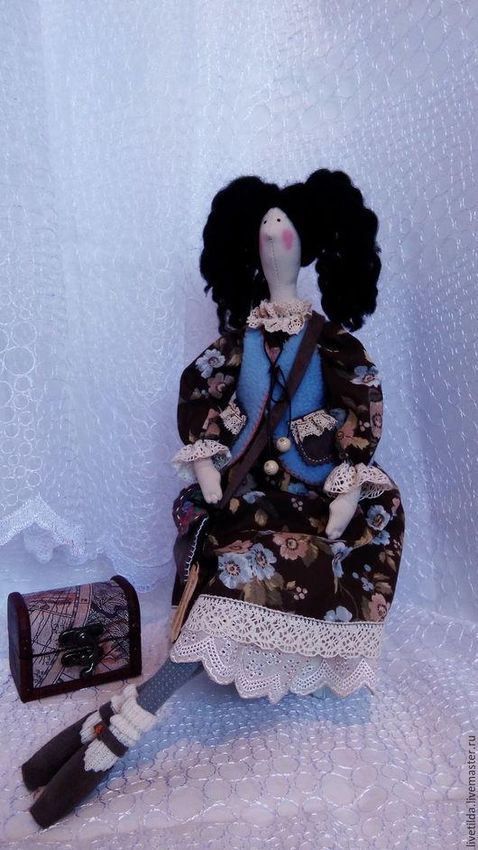 Куклы Тильды ручной работы. Ярмарка Мастеров - ручная работа. Купить Кукла Тильда. Handmade. Коричневый, шитье игрушек