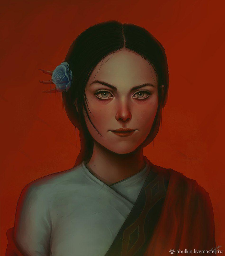 Портрет - цифровая живопись, Иллюстрации, Москва,  Фото №1
