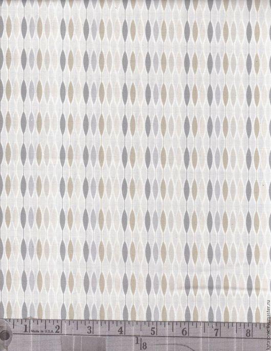 Шитье ручной работы. Ярмарка Мастеров - ручная работа. Купить 1177 Остаток.  Американская ткань. Handmade. Серый, ткань с рисунком