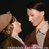 """Куклы и игрушки ручной работы. Ярмарка Мастеров - ручная работа Куклы """"Влюбленные. 1929 год"""". Handmade."""