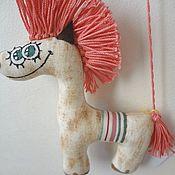 Куклы и игрушки ручной работы. Ярмарка Мастеров - ручная работа Смешная лошадка. Handmade.