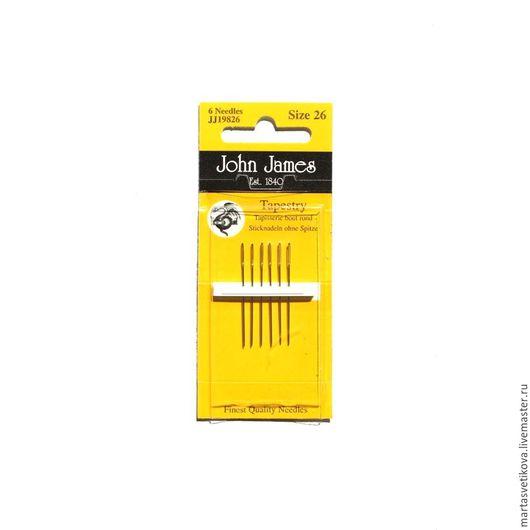 Вышивка ручной работы. Ярмарка Мастеров - ручная работа. Купить Набор игл для вышивания крестиком John James (Англия) JJ19826. Handmade.