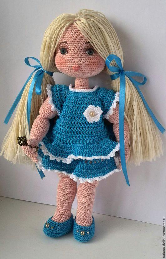 Шарнирная кукла. Почти Мальвина
