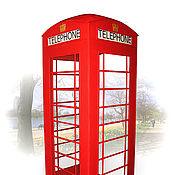 Для дома и интерьера ручной работы. Ярмарка Мастеров - ручная работа Английская телефонная будка. Handmade.