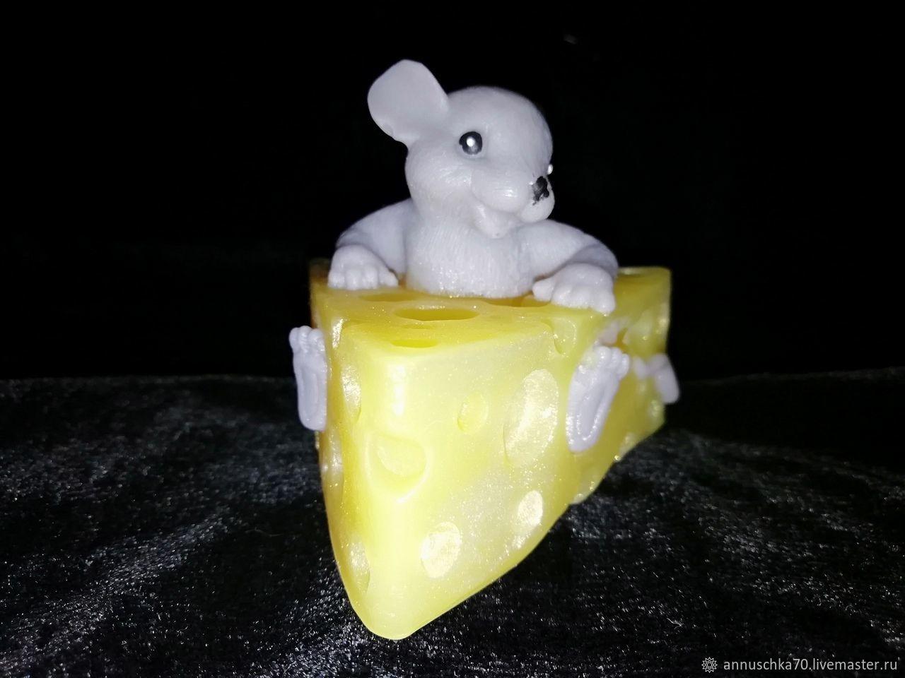 Мышонок в сыре, Мыло, Иваново,  Фото №1