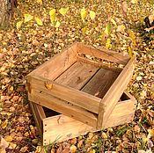 Для дома и интерьера ручной работы. Ярмарка Мастеров - ручная работа Деревянные ящики. Handmade.