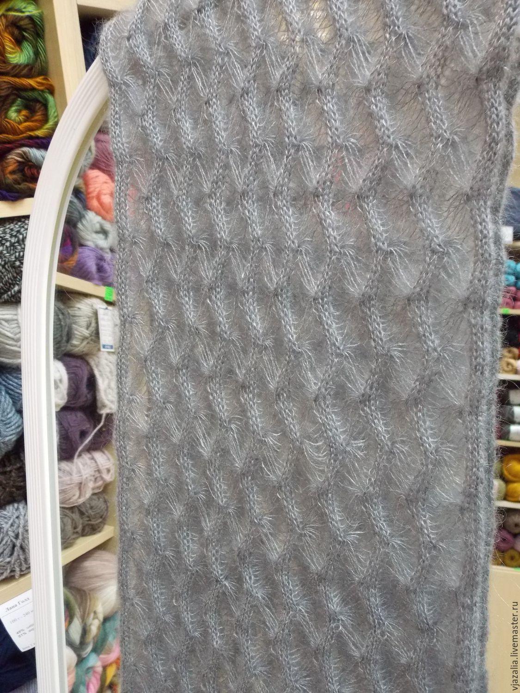 нежный шарф из мохера с шелком дежавю купить в интернет магазине