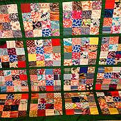 """Для дома и интерьера ручной работы. Ярмарка Мастеров - ручная работа Лоскутное покрывало """"Одеяло моей бабушки"""". Handmade."""