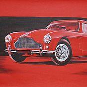 Картины ручной работы. Ярмарка Мастеров - ручная работа Картина: графика Aston Martin автомобиль. Handmade.