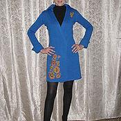 """Одежда ручной работы. Ярмарка Мастеров - ручная работа Кардиган """"Хохлома"""". Handmade."""