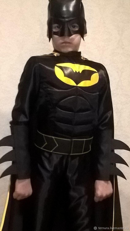 Костюм бэтмен для мальчика своими руками фото фото 468