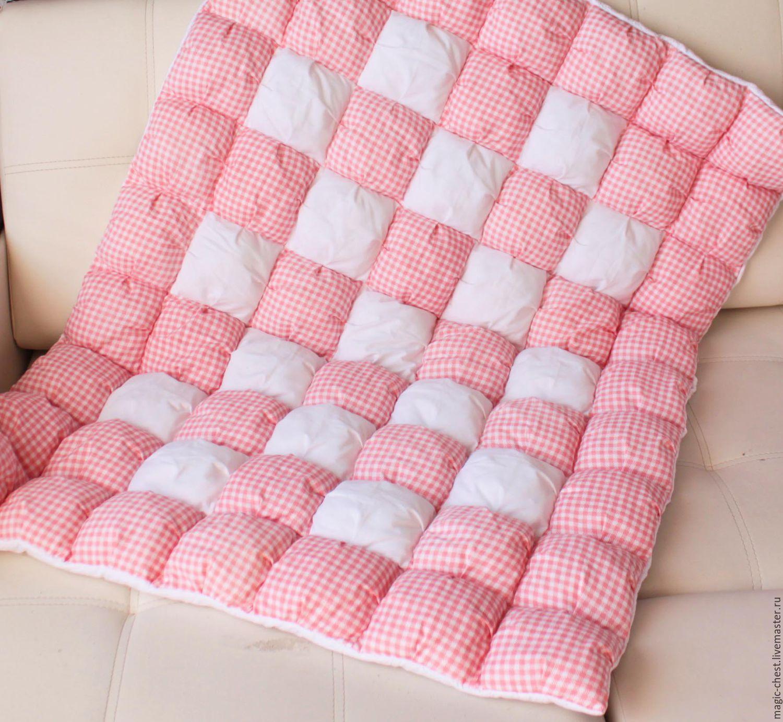 Одеяло бубонами своими руками