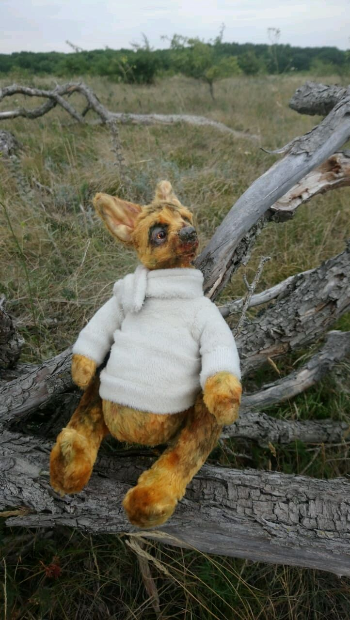 Teddy dog shepherd. Dog Teddy. Dog toy for children, Teddy Toys, Stavropol,  Фото №1