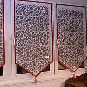 Для дома и интерьера ручной работы. Ярмарка Мастеров - ручная работа Шторы - Французский треугольник. Handmade.