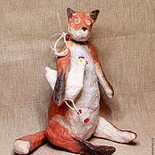 Куклы и игрушки ручной работы. Ярмарка Мастеров - ручная работа Лисенок. Handmade.