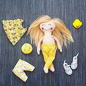 Куклы и игрушки handmade. Livemaster - original item Handmade doll Helga. Handmade.
