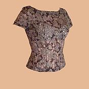 Одежда ручной работы. Ярмарка Мастеров - ручная работа Кружевной топ. Handmade.