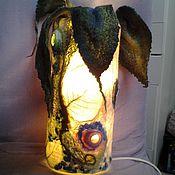 Для дома и интерьера ручной работы. Ярмарка Мастеров - ручная работа Светильник Волшебный цветок. Handmade.