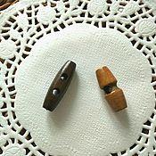 Пуговицы ручной работы. Ярмарка Мастеров - ручная работа Пуговицы деревянные 3 см и 3,5 см. Handmade.