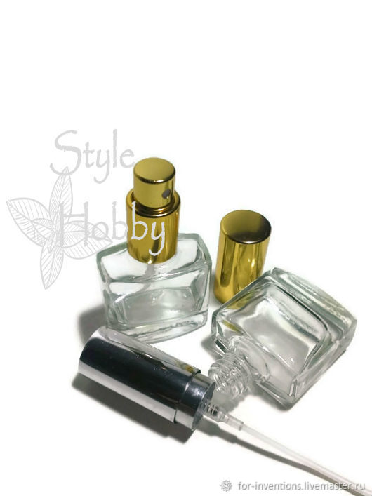 A small perfume bottle 10 ml, Bottles1, Moscow,  Фото №1