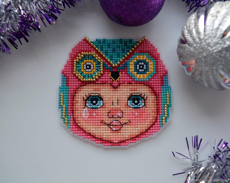 Christmas toy owl Costume, Christmas decorations, Voronezh,  Фото №1