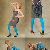 Одежда ручной работы. Ярмарка Мастеров - ручная работа Платье с монстриком. Handmade.