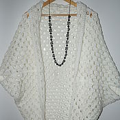Одежда ручной работы. Ярмарка Мастеров - ручная работа Кардиган вязаный. Handmade.