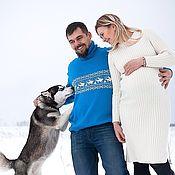 Одежда ручной работы. Ярмарка Мастеров - ручная работа Джемпер с оленями . Вариант два или один олень. Handmade.
