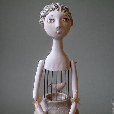 """Куклы и игрушки ручной работы. Ярмарка Мастеров - ручная работа Кукла """"Моё сердце - маленькая птичка"""". Handmade."""