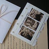 Свадебный салон ручной работы. Ярмарка Мастеров - ручная работа Приглашение на свадьбу. Handmade.