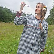 """Одежда ручной работы. Ярмарка Мастеров - ручная работа Платье-рубашка """"Мята"""". Handmade."""