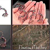 Украшения ручной работы. Ярмарка Мастеров - ручная работа Nazca. Monkey. Handmade.