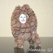 Куклы и игрушки ручной работы. Ярмарка Мастеров - ручная работа Мягкая игрушка из искусственного меха Кудрявая кошечка. Handmade.