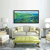 Картины и панно handmade. Livemaster - original item Oil painting on Board of oak. Serenity. for the interior.. Handmade.