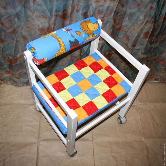 Детская ручной работы. Ярмарка Мастеров - ручная работа. Купить Чехлы на детские стулья. Handmade. Чехол, текстиль для дома, сиденье