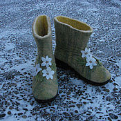 Обувь ручной работы handmade. Livemaster - original item Boots outdoor winter shoes