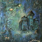 Картины и панно handmade. Livemaster - original item Decorative wall panel Gothic style GOTHIC. Handmade.