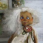 Куклы и игрушки ручной работы. Ярмарка Мастеров - ручная работа Текстильная кукла. Ангелушка Даша.. Handmade.