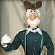 Коллекционные куклы ручной работы. Ярмарка Мастеров - ручная работа. Купить Кукла из полимерной глины Доктор Ливси. Handmade.