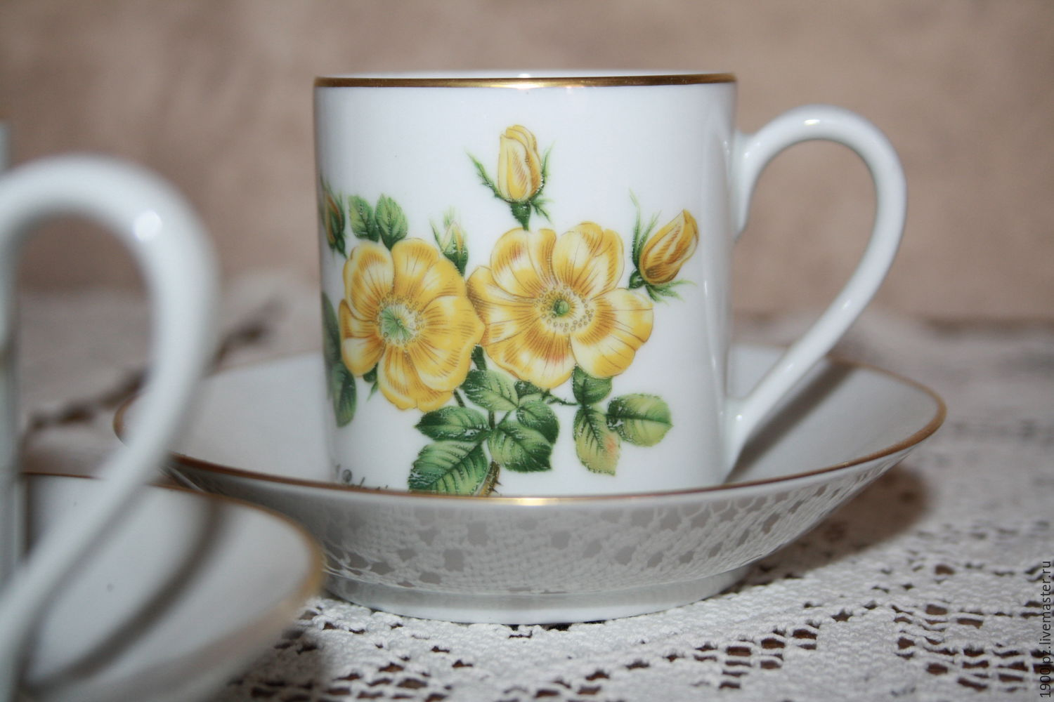 flora ... botany ... shabby ... Coffee couples ... germany, Vintage sets, St. Petersburg,  Фото №1