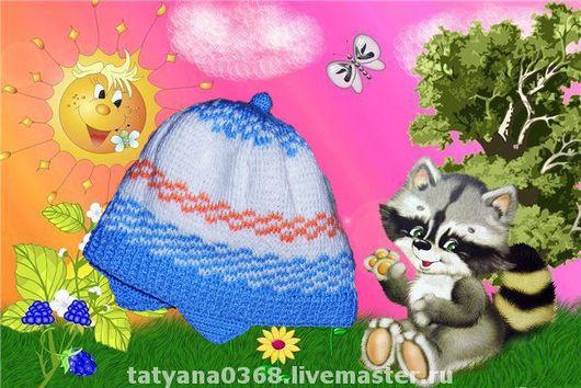 Шапки и шарфы ручной работы. Ярмарка Мастеров - ручная работа. Купить шапка  на осень. Handmade. Тёмно-бирюзовый